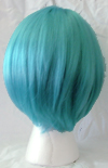 Gina wig in blue daydream back view