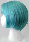 Gina wig in blue daydream side view